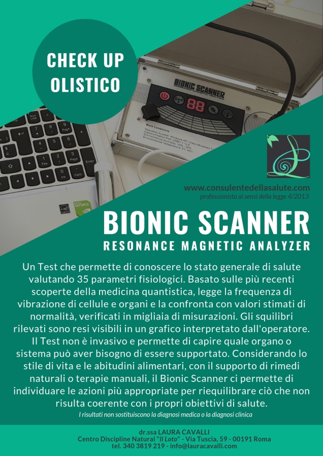 locandina bionic scanner